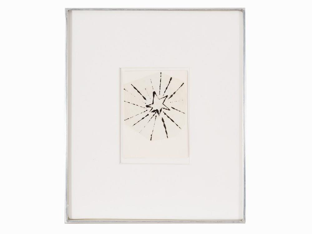 51BidLive-[Andy Warhol, Christmas Card, Ink Drawing, circa 1950/60]