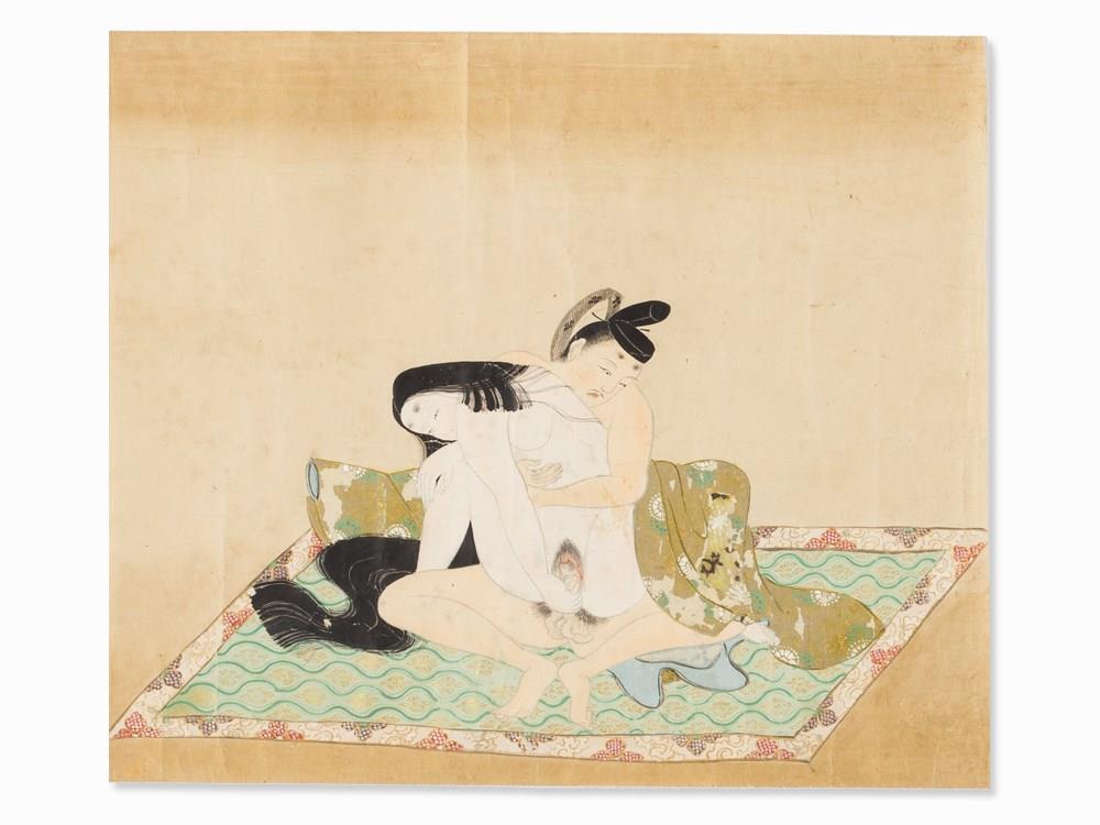 51bidliveyanagawa shigenobu 3 shunga paintings japan