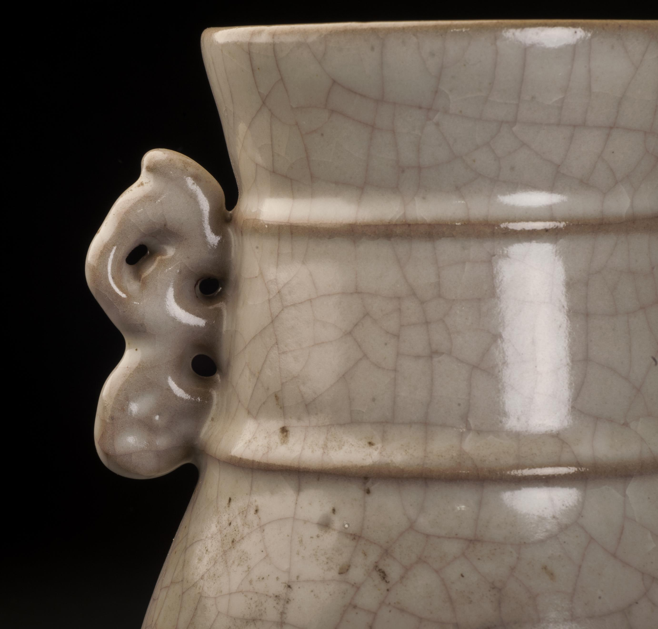 51bidlive a guan ware glazed vase with two handles a guan ware glazed vase with two handles reviewsmspy