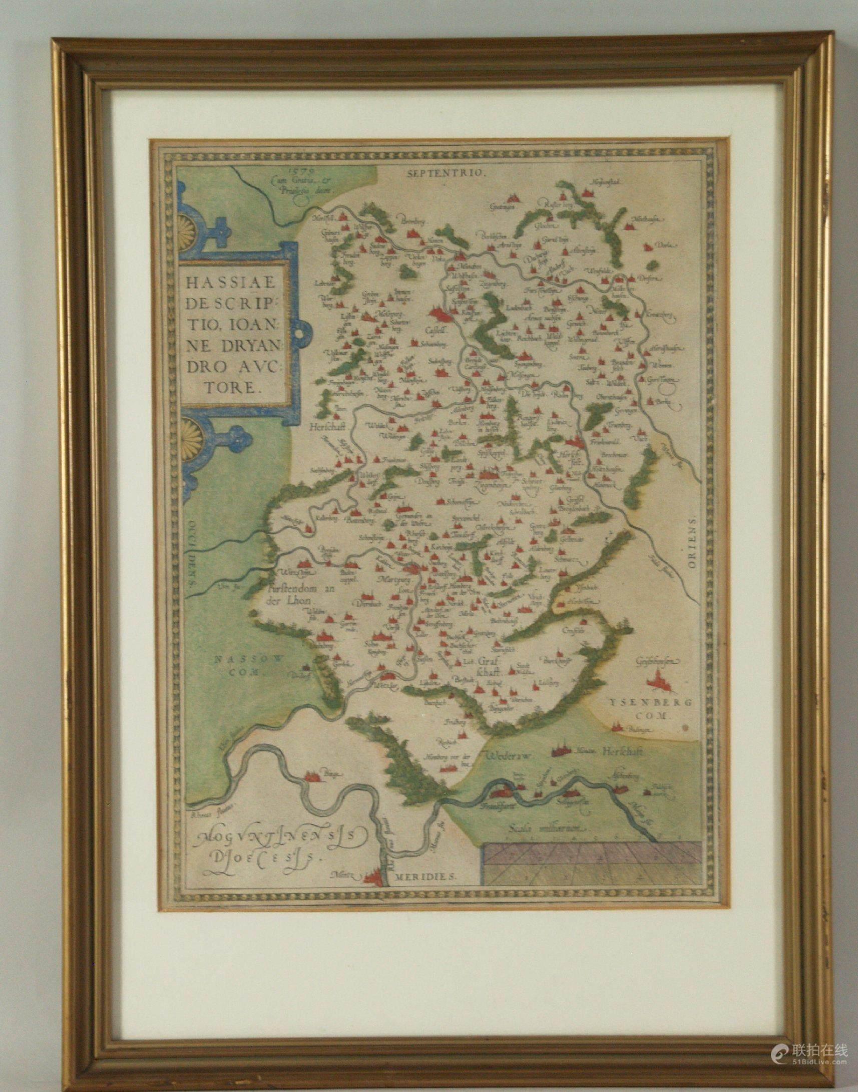 51BidLive-[Dryander,Johann(1500 Wetter - 1560 Marburg) - Hassiae ...