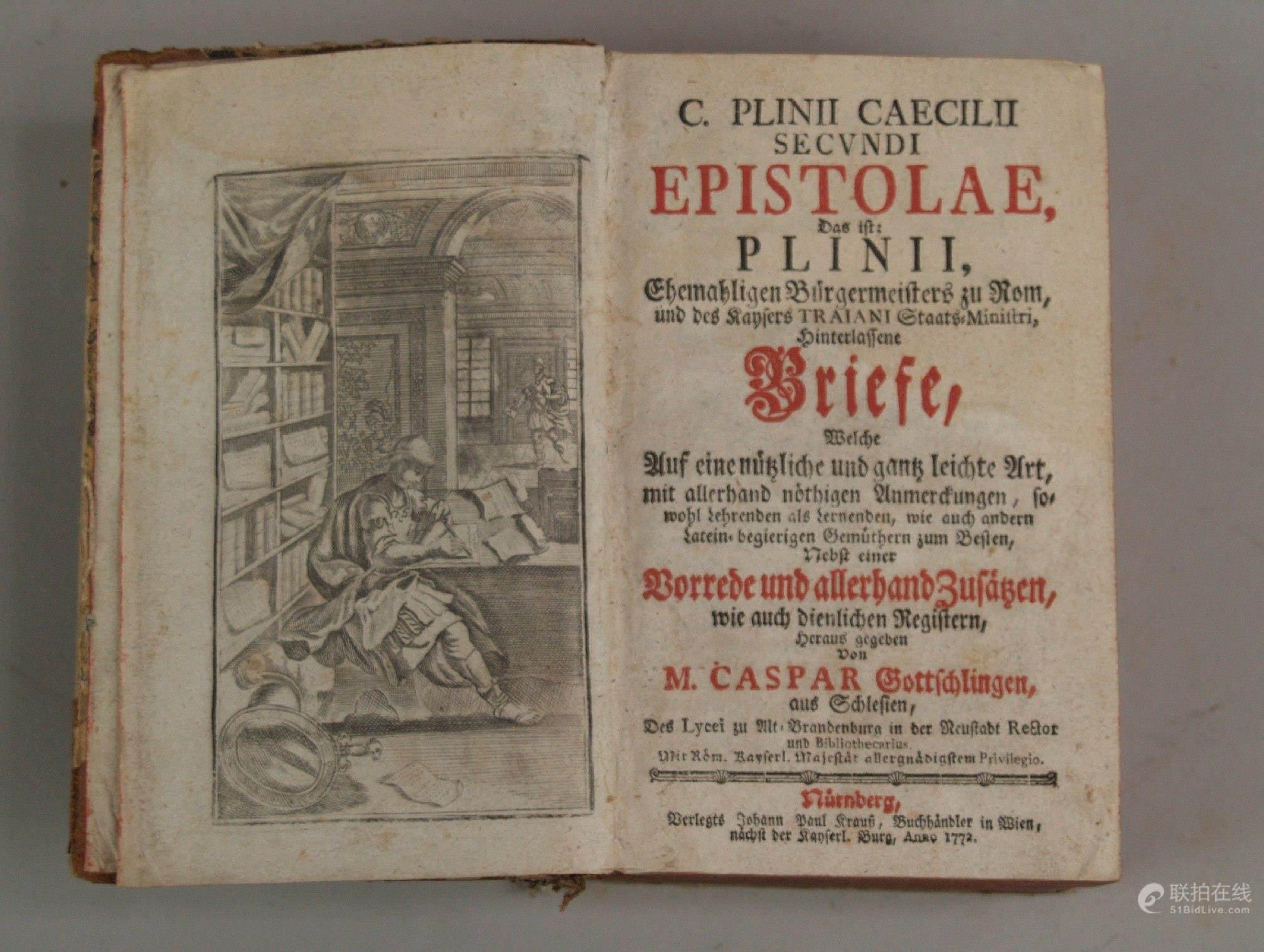 Briefe Von Plinius : Bidlive gaius plinius caecilius secundus der