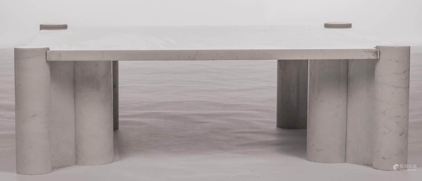51bidlive a marble design coffee table so called u0027jumbo coffee