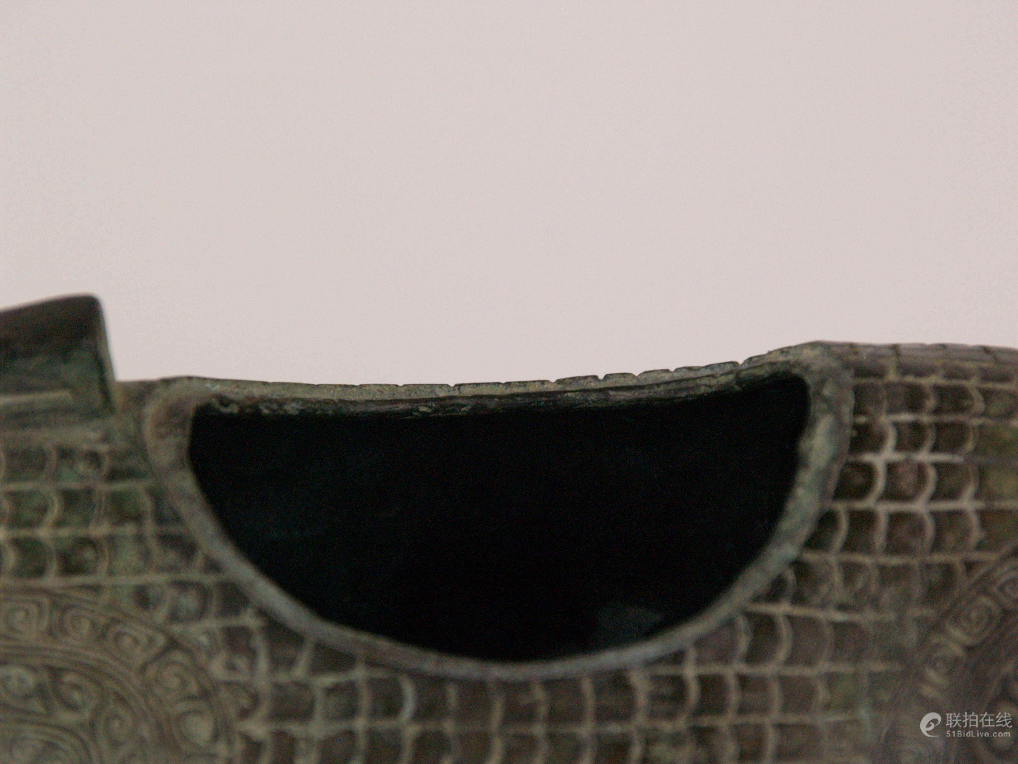 51bidlive animal shaped zun china zhou dynasty style bronze animal shaped zun china zhou dynasty style bronzeritual vine vessel cast in the shape buycottarizona Choice Image