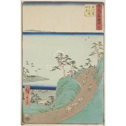 KEISAI EISEN (1790-1848) AND UTAGAWA HIROSHIGE 91797-1858),