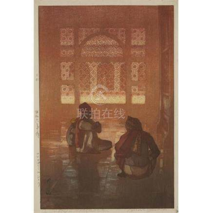 HIROSHI YOSHIDA (1876-1950), DATED SHOWA PERIOD 6TH YEAR (19