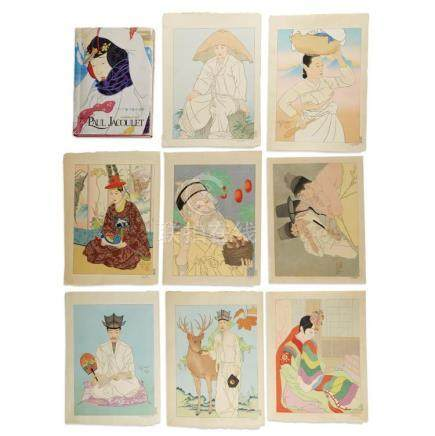 PAUL JACOULET (1896-1960), , KOREAN SUBJECTS: 17 PRINTS, TOG