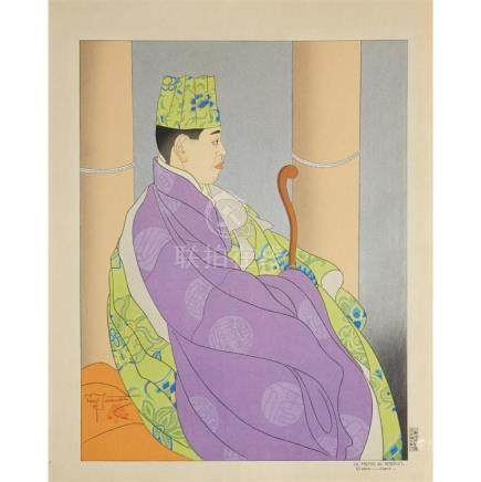 PAUL JACOULET (1896-1960), , JAPANESE SUBJECTS, FOUR PRINTS