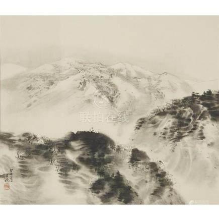 HIRAFUKU HYAKUSAI (1877-1933), DATED GUIYOU YEAR, SUMMER, CO