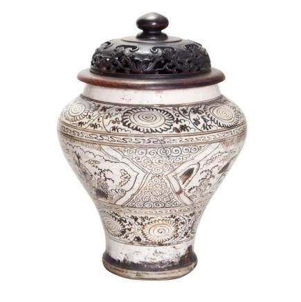Two Similar Chinese Cizhou Jars