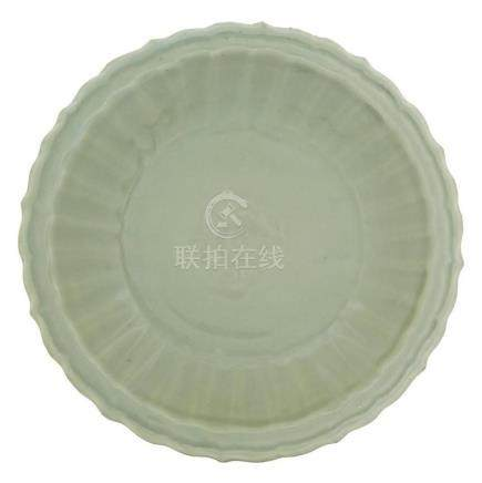 Chinese Longquan Celadon Charger