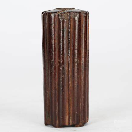 CHINESE ROSEWOOD INCENSE CONTAINER QING DYNASTY