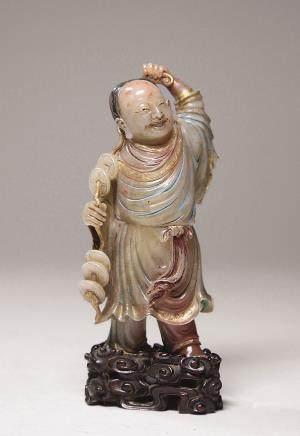 寿山石罗汉像