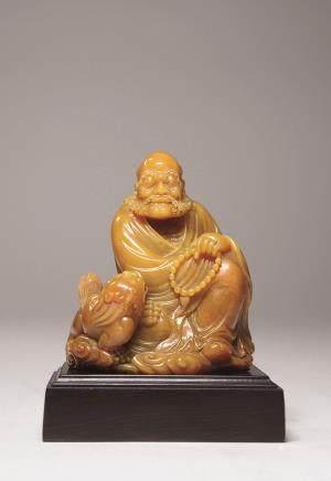 黄寿山罗汉坐像