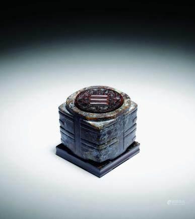 良渚文化玉琮