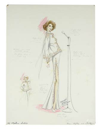 McGUIRE SISTERS DESIGN STUDIO COSTUME RENDERINGS