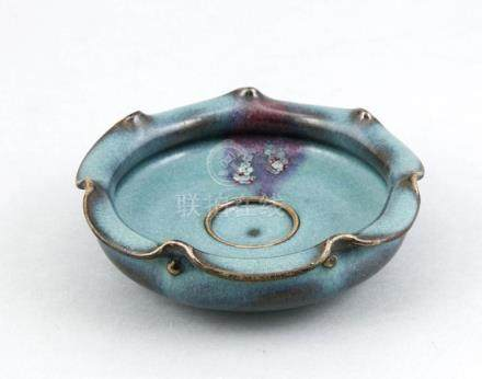 A small Jun-style bowl, China, 1st half of the 20th c., cera