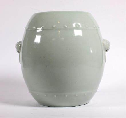 CHINESE CELADON GLAZED PORCELAIN JAR