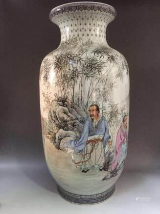 Du Haosheng, A Famille Rose Vase