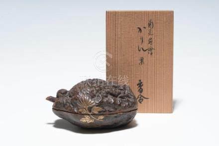 A Japanese Maki-e Box and Cover