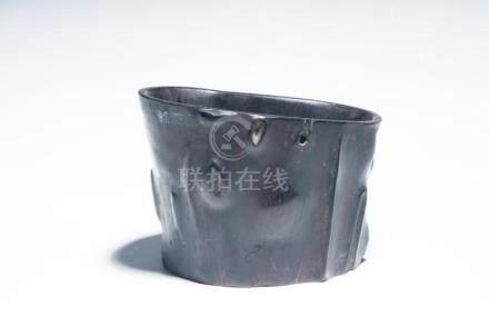 A Chinese Zitan Pot