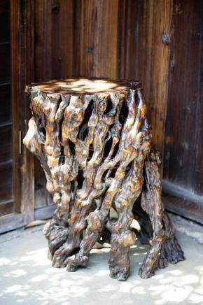 A Wooden Stand