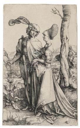 Albrecht Dürer (1471-1528); The Promenade;