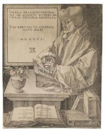 Albrecht Dürer (1471-1528); Erasmus von Rotterdam;