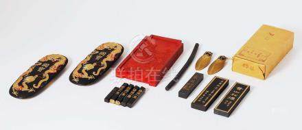 70-80年代 墨 一組十五錠