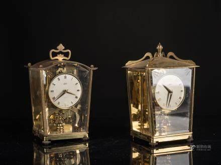 Pair of Vintage Clock