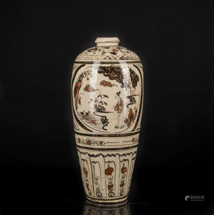 Ming Style Cizhou Vase