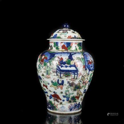 18th Antique Porcelain Jar