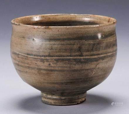 李朝刷毛茶碗