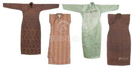 A Set Of Four Piecess Of Cheongsam