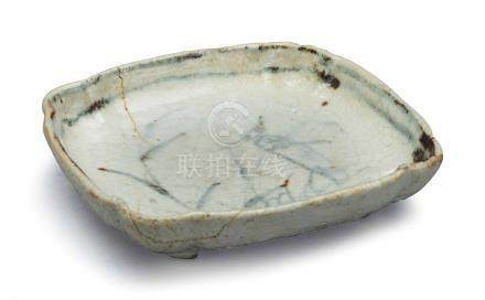 A JAPANESE SQUARE DISH