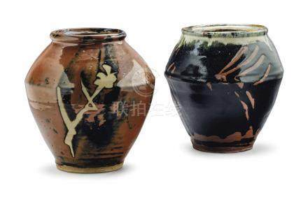 TWO JAPANESE VASES