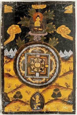TANKA TIBETAIN ANCIEN