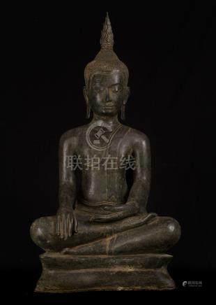 18th Century Sukhothai Thai Enlightenment Buddha