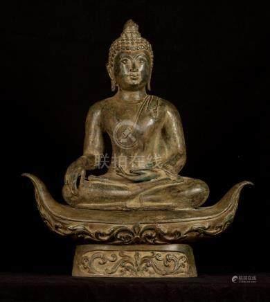 19th Century Chiang Saen Enlightenment Buddha