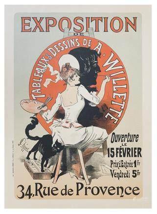 Les Maitres de l'affiche - Exposition de Willette