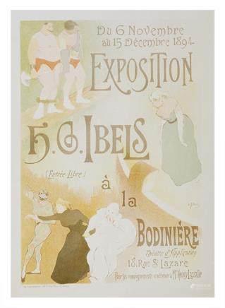Les Maitres de l'affiche - Exposition H.G.Ibels