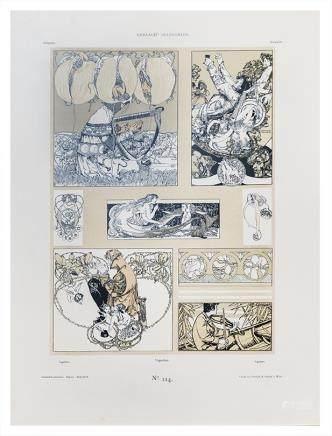 Gerlach's Allegorien - N° 114  Vignettes