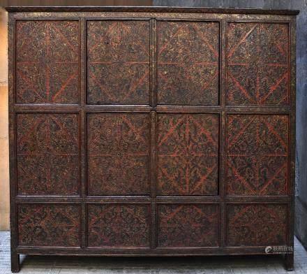 TIBETAN CABINET  - 18th century - Lasha
