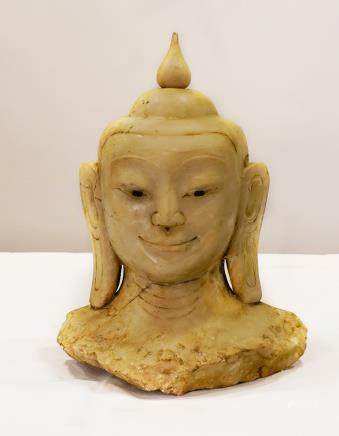 Buddha head - Burma - 19th century
