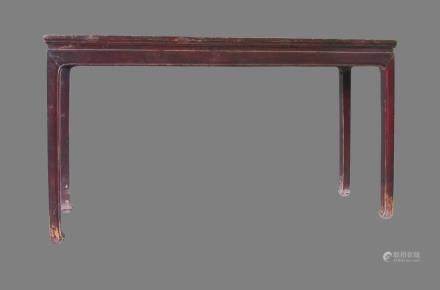 Altar table - China, Shanxì Province - late 18th century