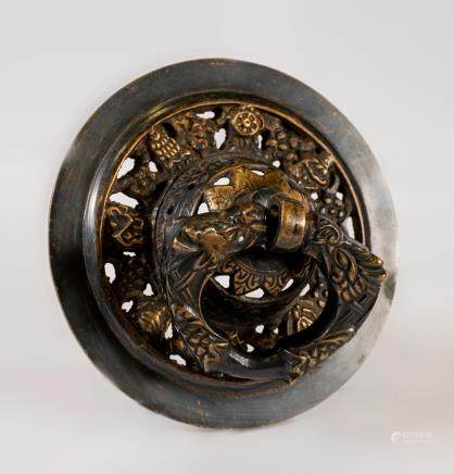 Round portal handle - Buthan - late 19th century