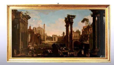 ROME, VIEW OF CAMPO VACCINO