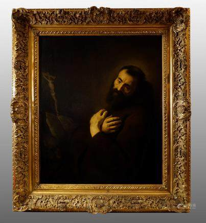 SAINT FRANCIS (JAN LIEVENS)