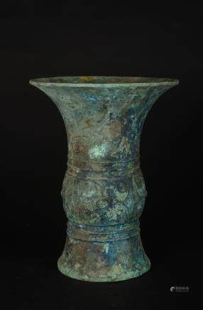 CHINESE ARCHAIC BRONZE VESSELS