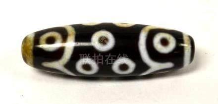 Dzi Tibetan Bead
