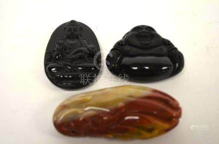 Three Chinese Pendants